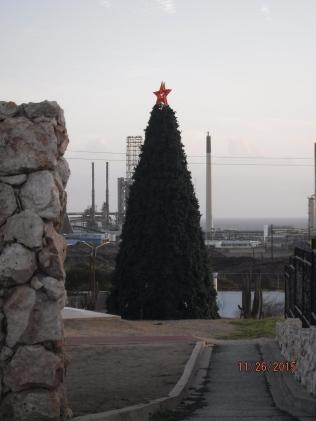 Arbol de Navidad en Aruba - Chrsitmas Tree in Aruba